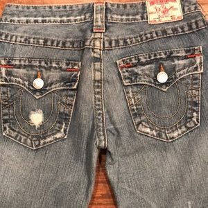 True Religion Jeans - True Religion Distressed Joey Jeans